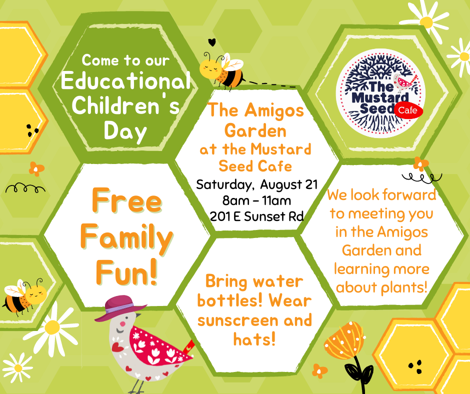 Free Family Fun at our Educational Children's Garden Day!